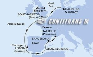 Germany, United Kingdom, Portugal, Spain, France