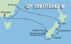 EC 11 NIGHT AUSTRALIA & NEW ZEALAND CRUISE