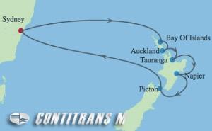 SL 10 NIGHT NEW ZEALAND HOLIDAY CRUISE
