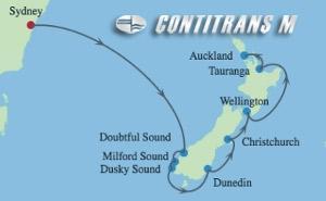 SL 9 NIGHT NEW ZEALAND  CRUISE