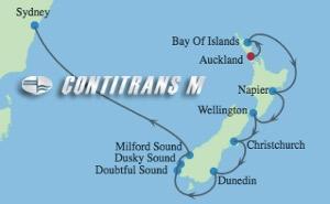 SL 10 NIGHT NEW ZEALAND  CRUISE