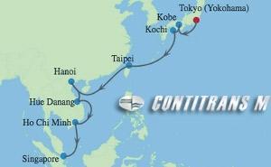 EC 16 NIGHT JAPAN, TAIWAN & VIETNAM CRUISE