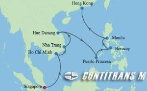 ML 14 NIGHT PHILIPPINES & VIETNAM CRUISE