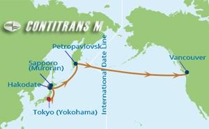 ML 15 NIGHT JAPAN & BERING SEA TRANSPACIFIC