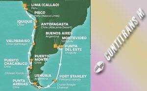 QS 21-NIGHT ARGENTINA, CHILE & PERU VOYAGE