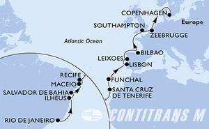 Brazil, Spain, Portugal, United Kingdom, Belgium, Denmark