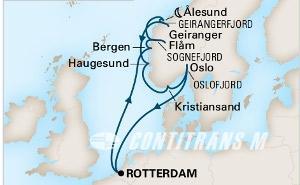 Majestic Fjords on Rotterdam