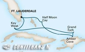 Tropical Caribbean on Zuiderdam