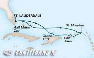 Eastern Caribbean on Zuiderdam