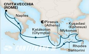 Ancient Empires 11 day on Koningsdam