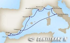 Mediterranean Rivieras 10 day on Koningsdam