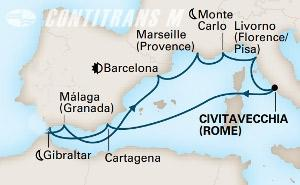 Mediterranean Rivieras 10 day on Koningsdam