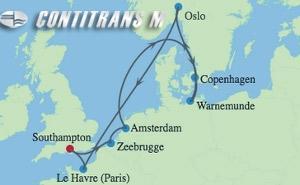 AX 10 NIGHT NORTHERN EUROPE CAPITAL CITIES