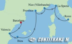 AX 7 NIGHT SPAIN, FRANCE & ITALY CRUISE