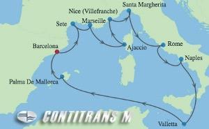 Барселона Западно Средиземноморие