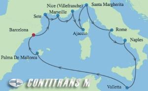 AX 12 NIGHT SPAIN, FRANCE & ITALIAN RIVIERA