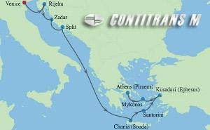 CS 10 NIGHT ITALY, CROATIA & GREEK ISLANDS