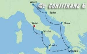 IN 7 NIGHT ITALY, GREECE & ADRIATIC CRUISE