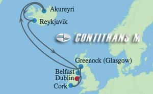 RF 10 NIGHT IRELAND & ICELAND CRUISE