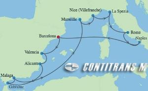 SI 12 NIGHT SPAIN, FRANCE & ITALY CRUISE