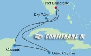 EQ 6 NIGHT KEY WEST, CAYMAN & COZUMEL