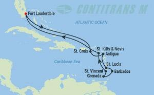 EQ 12 NIGHT ULTIMATE SOUTHERN CARIBBEAN