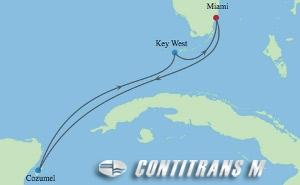IN 5 NIGHT MEXICO & KEY WEST CRUISE