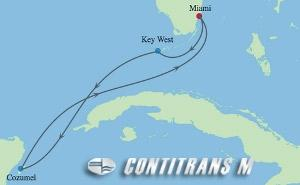 IN 5 NIGHT MEXICO & KEY WEST HOLIDAY CRUISE