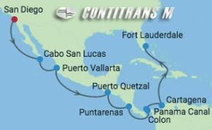 SM 15 NIGHT PANAMA CANAL EASTBOUND CRUISE