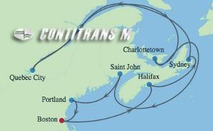 SM 12 NIGHT BOSTON, MAINE & CANADA CRUISE