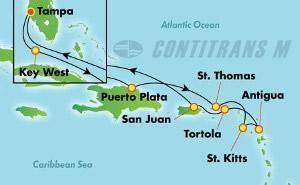 Eastern Caribbean - Tampa (TPA/TPA)