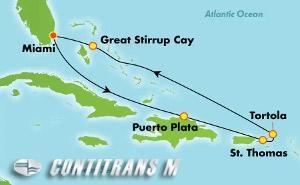 Eastern Caribbean - Miami (MIA/MIA)