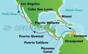 Panama Canal - Miami (MIA/LAX)