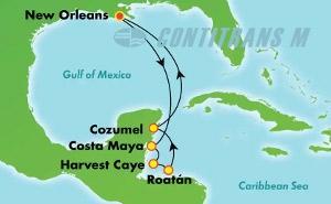Western Caribbean - New Orleans (MSY/MSY)