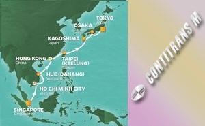 PR 16-NIGHT SPRINGTIME IN ASIA VOYAGE