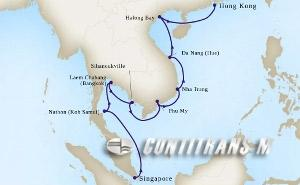 Far East Discovery from Singapore on Westerdam
