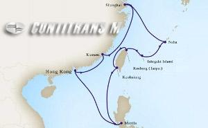East Asia on Westerdam