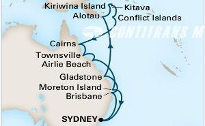 Australia & Melanesia on Maasdam