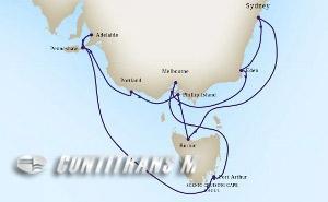 Southern Australian Holiday on Maasdam