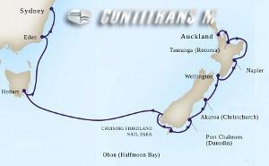 New Zealand & Australia on Maasdam