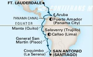Inca And Panama Canal 2019 on Zaandam
