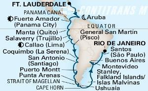 Panama Canal, Inca & S. America Discovery on Zaandam