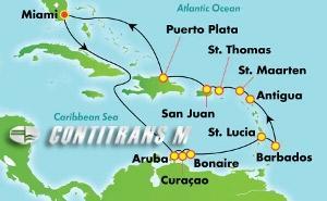Southern Caribbean - Miami (MIA/MIA)