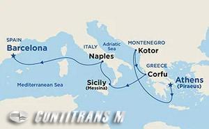 Inaugural Mediterranean & Adriatic on Sky
