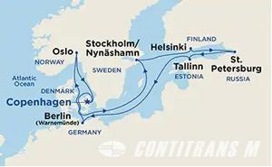 Baltic Capitals I on Sky