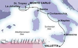 Riviera Gems & Rome on Ovation