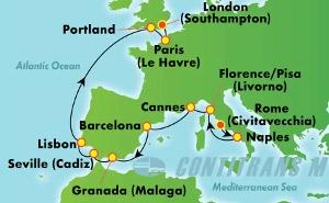 Europe - Western Mediterranean - Rome (CIV/SOU)