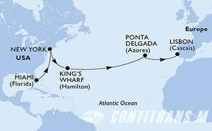 United States, Bermuda, Portugal