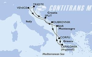 Italy, Croatia, Greece, Montenegro