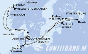 Denmark, Norway, Germany, Finland, Russian Federation, Estonia